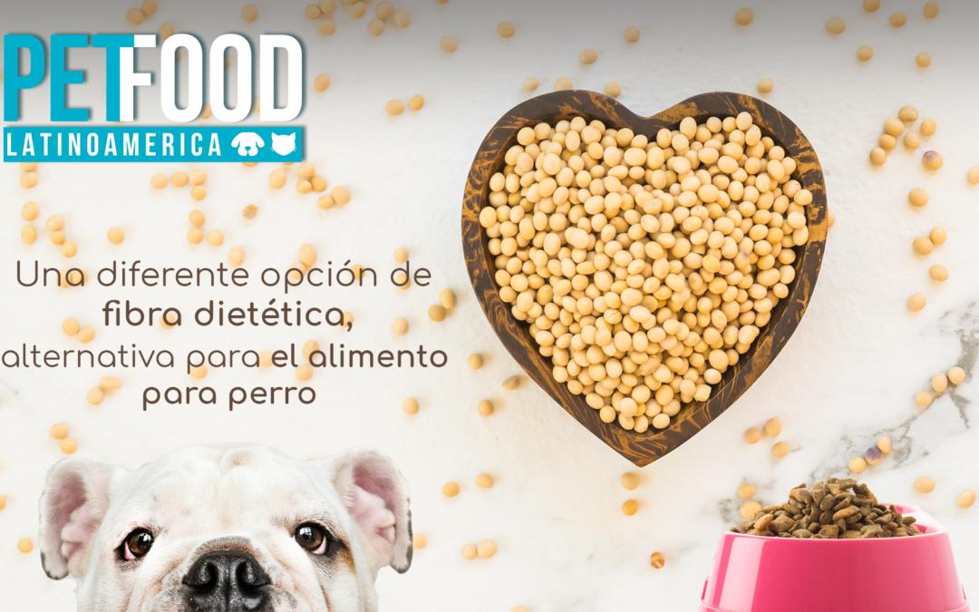 Cascarilla de soya, una fuente alternativa para perros