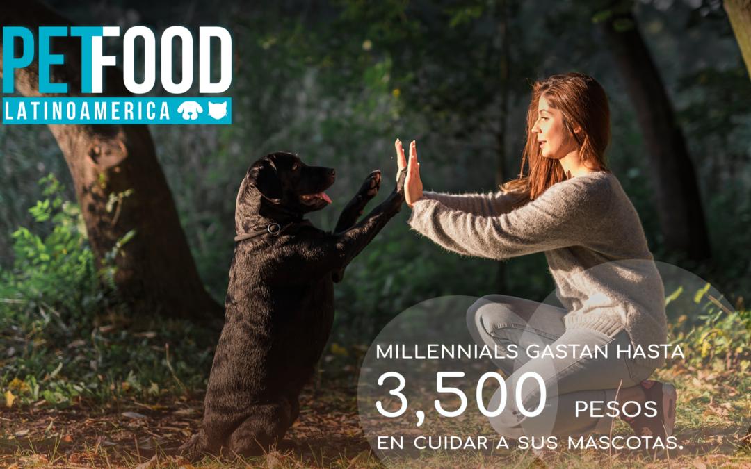 México: Millennials gastan hasta 3,500 pesos en cuidar a sus mascotas