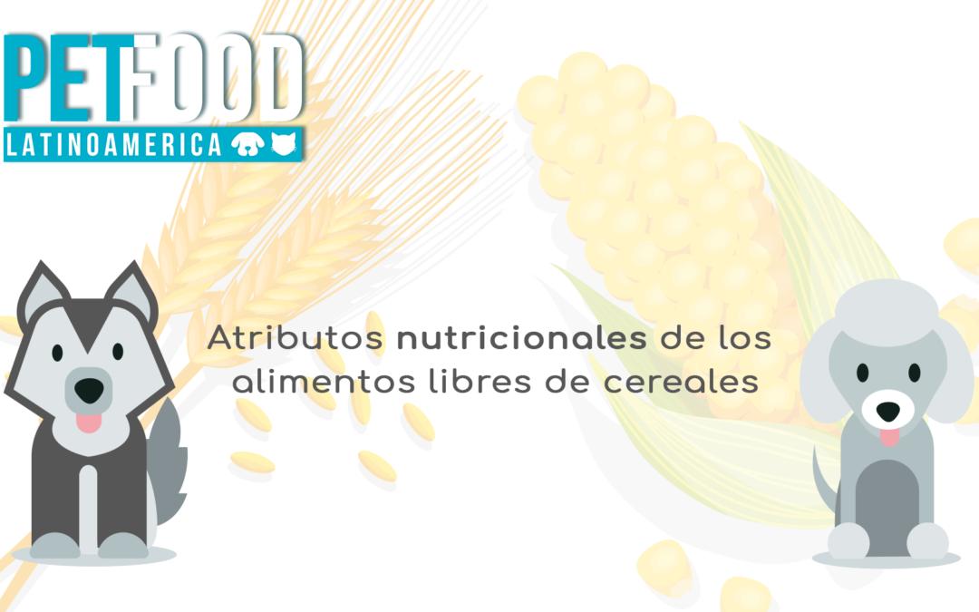 Atributos nutricionales de los alimentos libres de cereales