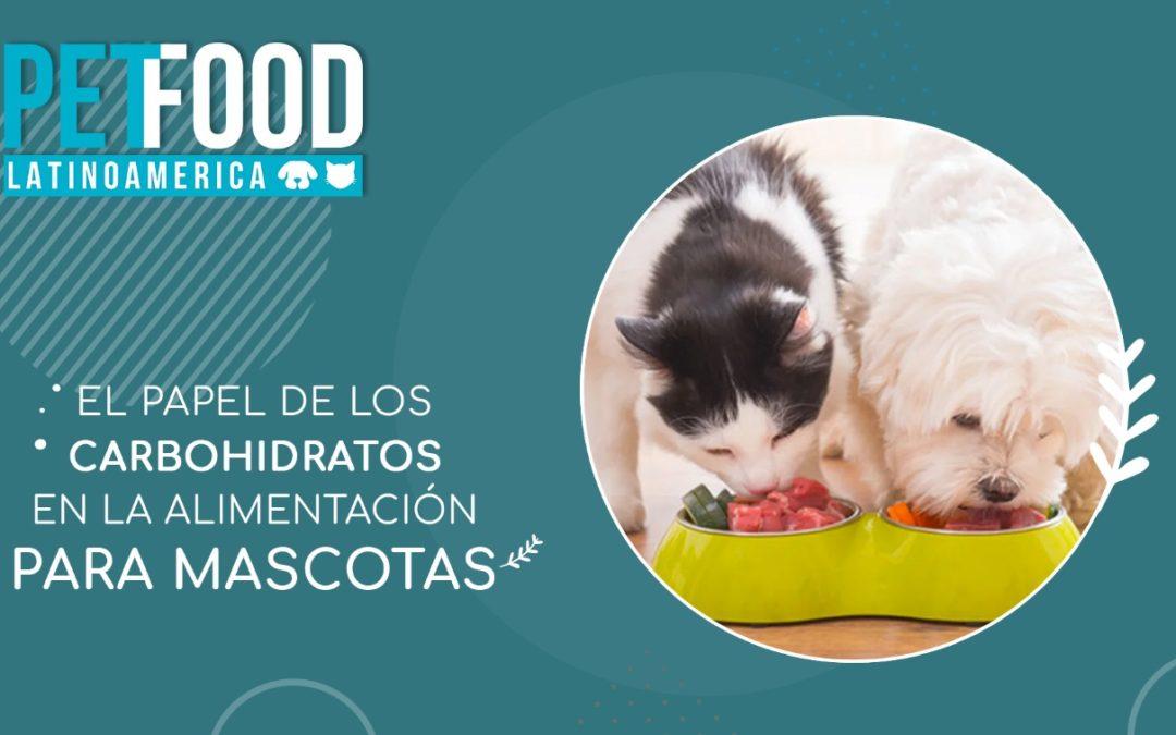 El papel de los carbohidratos en la alimentación para mascotas.