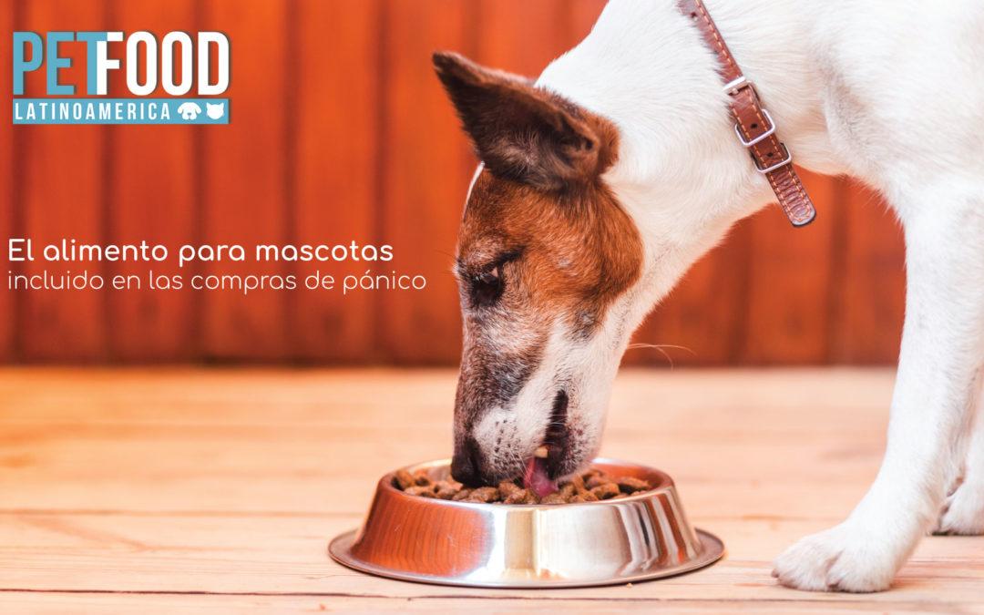 El alimento para mascotas incluido en las compras de pánico