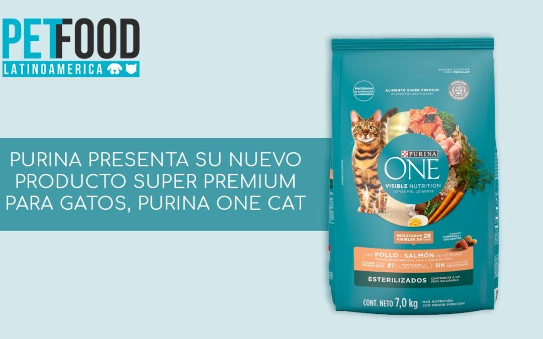 Purina presenta su nuevo producto super premium para gatos, Purina One Cat