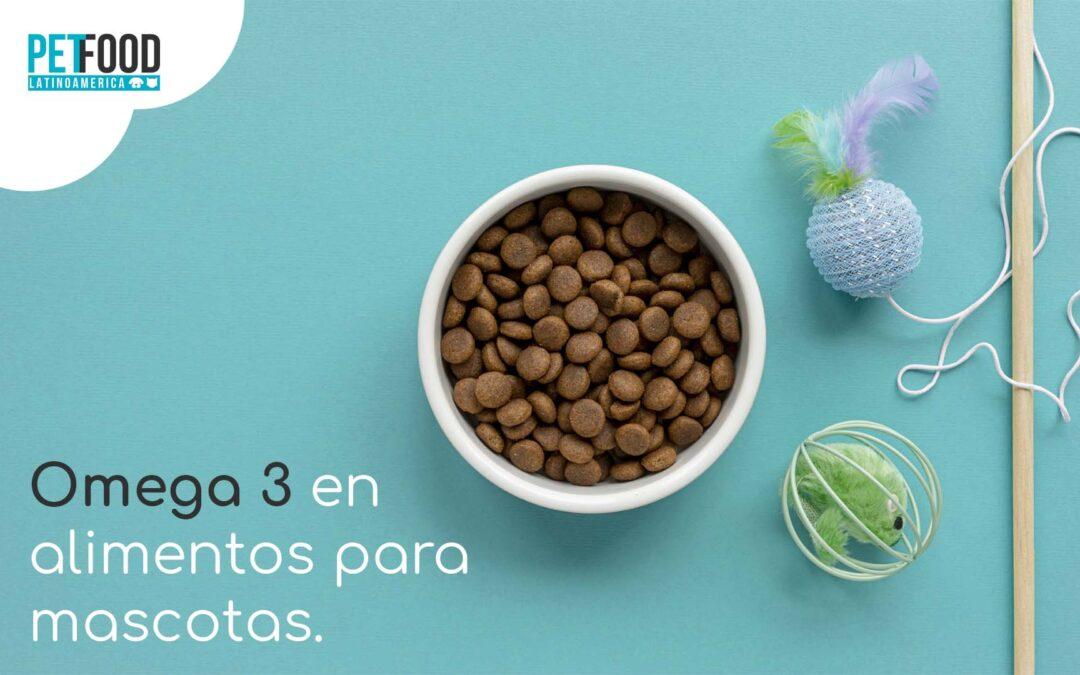 Uso de ácidos grasos Omega 3 en alimentos para mascotas